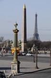 La place de la Concorde et le Louvre