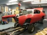 1969 GTO ready to go on a rebuilt frame