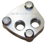 Pro O-Ringed Oil Adapter Block (top)