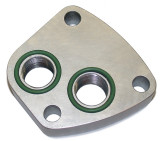 Pro O-Ringed Oil Adapter Block (underside)