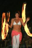 Little Beach Fire Dancers