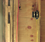 Permanent electric switches and wires