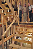 Other Work: Stairs are built