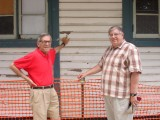 Max and Jerry inspect the paint