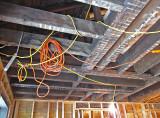 Still using temporary wiring