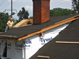 Installing Ice & Water Shield on the whole roof