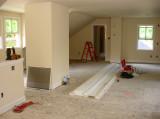 June 4th: Second Floor Trim work
