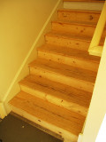 June 23d: Stairs to second floor