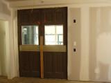 First Floor old doors to tracks