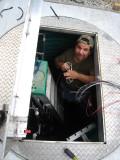 wiring the sanitary sewer drain
