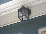 We have installed temporary lights outside, pending SEPTA supplying better.