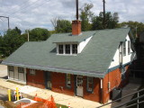 Cynwyd Station, from the corner
