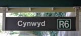 So far, it still says R6, but it's now the Cynwyd Line.