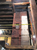 Charcoaled beams on the first floor ceiling_8293.JPG