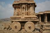 Chariot carved of granite, Vittala Temple
