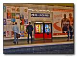 Pere Lachaise subway station