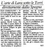 LA NAZIONE SIENA  (Italy)  2000