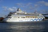 AIDAaura - 2003 - IMO 9221566 (port: WILLEMSTAD CURACAO)