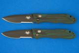 Benchmade 735SBT + 735SBT Pardue misprint front
