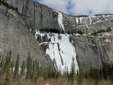 Weeping Wall, frozen in winter
