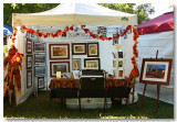 My Booth at the Elk Grove Harvest Festival