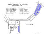 Floorplan showing areas cleaned