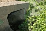 Btry Townsley antiaircraft gun shelter-entry