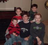 GRANDSONS CHRISTMAS 2008