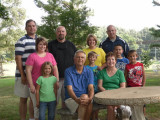 Hines family July 2010