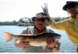 Mike and his catch. Next year, maybe Pleasants and his catch,