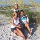 Daughter Amy,Taylor and Chris in the sands of Destin June '06