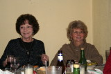 Paula and June. Notice the smiles, everyone loves SupperClub