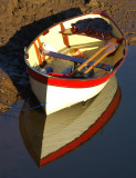 Boat reflection