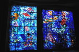Stained glass window 2 Chagall Museum