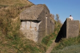 Sideview of a bunker