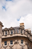 When you look up you see beautifully ornate details on the houses or...
