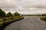 V View of the Salmon Weir from the bridge