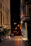 The steep street