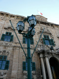 The three lamps