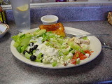 Best Cobb Salad with Blue cheese dressing