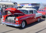 55 Chevy 2dr post