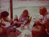 Aunt Cynthia, Brett, Walter  and Mike Collins 1981-82