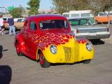 red and yellow Ford ?