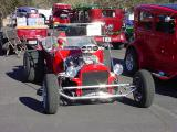 red T Bucket roadster