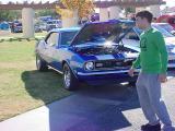 blue Camaro SS
