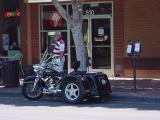 Harley Davidsontrike on Mill Avenue