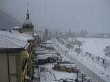 Nevando en Interlaken