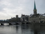 Zurich y el Rio Limmat