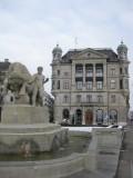 Zurich. Bürkliplatz