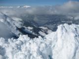 Montañas cercanas a Arosa